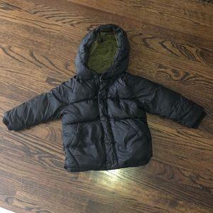 Zara puffer boy jacket